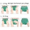 lot 10 Couches lavables evolutives Onesize bio popolini