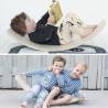 Wobbel, jeu equilibre et motricité, balance rocker board pour enfant et adulte steiner waldorf