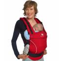 Manduca,chilly red, rouge  porte bébé physiologique en coton Bio