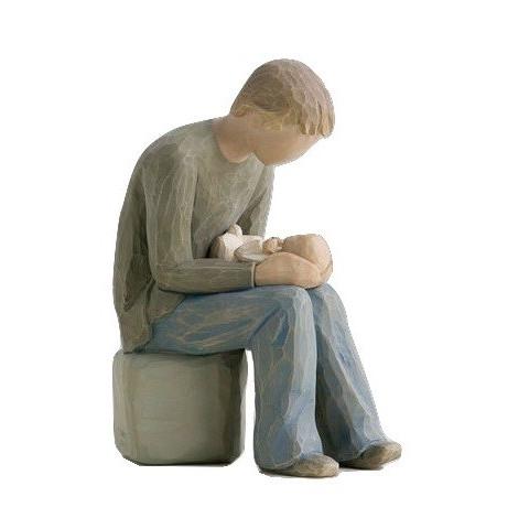 Statuette New Dad de Willow Tree