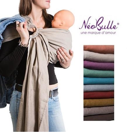 Sling de portage coton bio Néobulle,