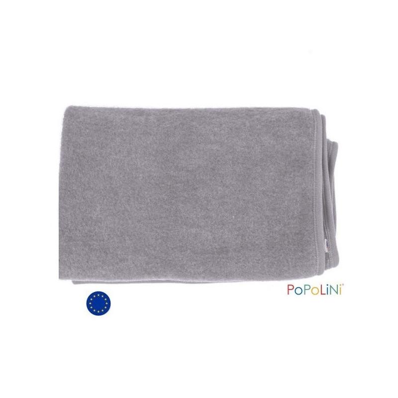 couverture b b en polaire de laine bio de iobio popolini
