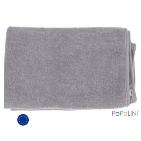 Couverture polaire pour bébé en laine bio Gots,   Iobio de popolini