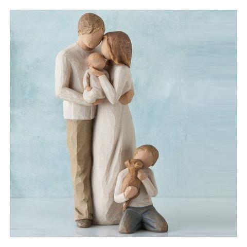 Statue Our gift, notre cadeau naissance, de Willow Tree