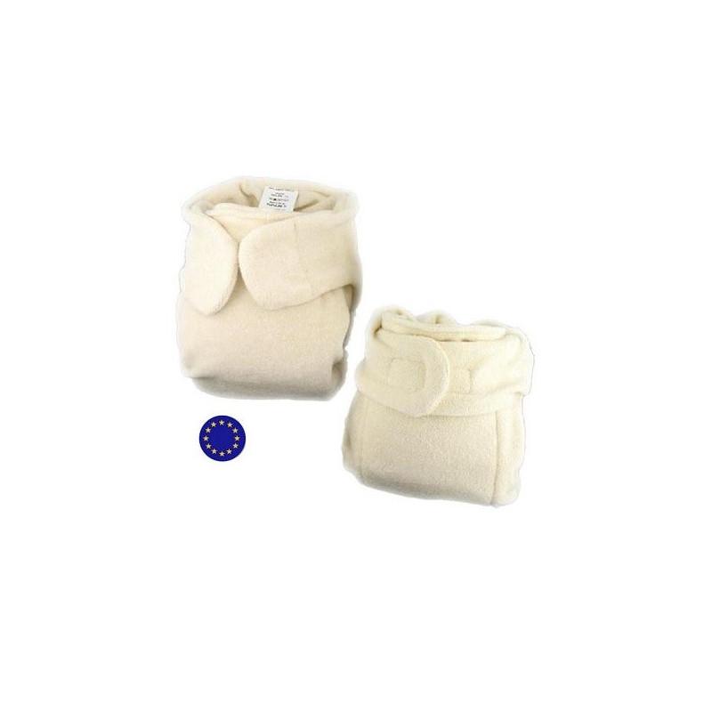 couche lavable panda velcro volutive coton bio popolini. Black Bedroom Furniture Sets. Home Design Ideas