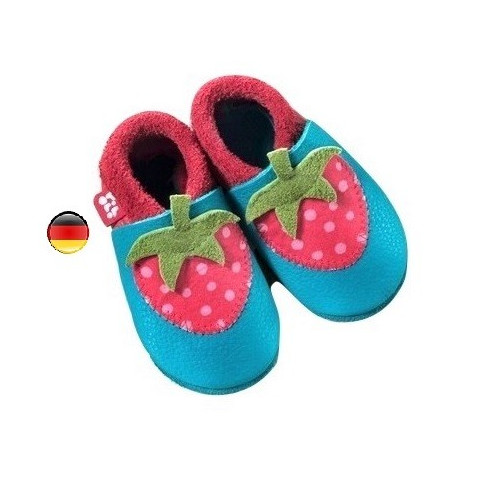 Chausson cuir Strawberry, Pololo