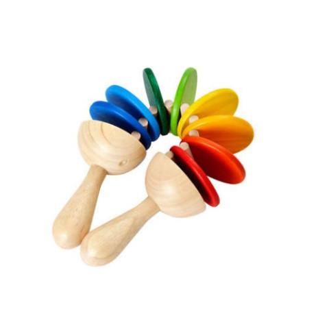 Claquette, jouet instrument de musique en bois Plan Toys