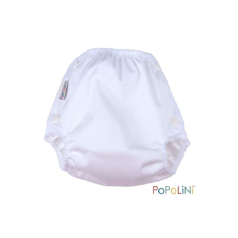 Culotte de protection Vento blanc à pression pour couches lavables, Popolini