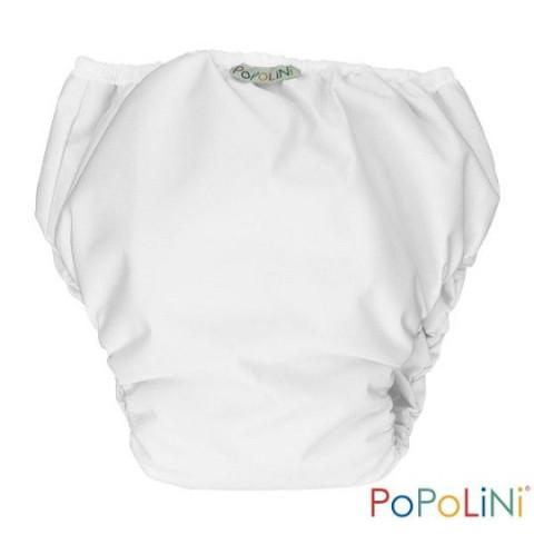 Trainer, culotte d'apprentissage de propreté, couche lavable coton bio blanc, Popolini