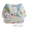 Culotte de protection Popowrap Garden à velcro pour couches lavables, Popolini
