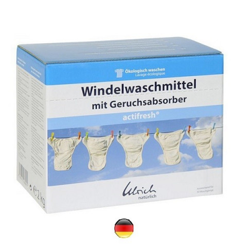 Lessive Actifresh poudre pour couche Lavable Ulrich