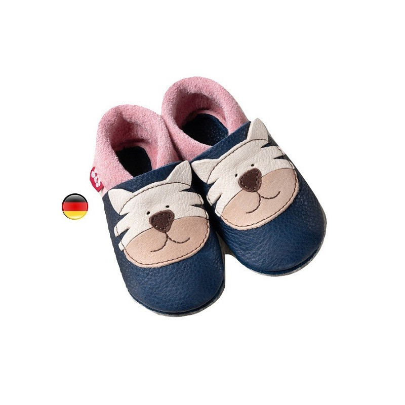 magasin en ligne a9965 5fd07 Chausson cuir Tiger Lily, Pololo