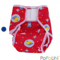 culotte de protection birdy à velcro pour couche lavable, Popowrap de Popolini