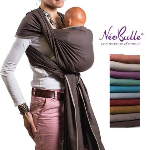 Echarpe de portage 4,6m coton bio Néobulle,