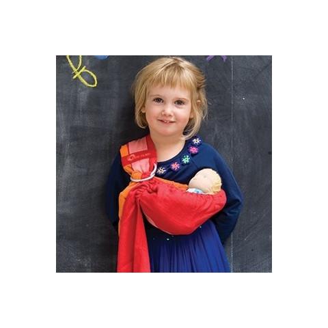 Porte poupée, porte bébé sling hamac babylonia