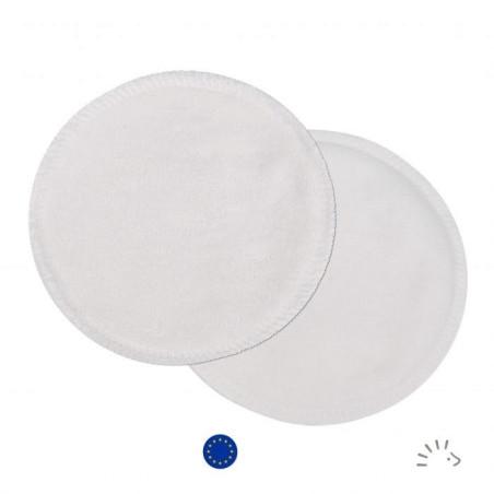 Coussinets allaitement lavables coton bio