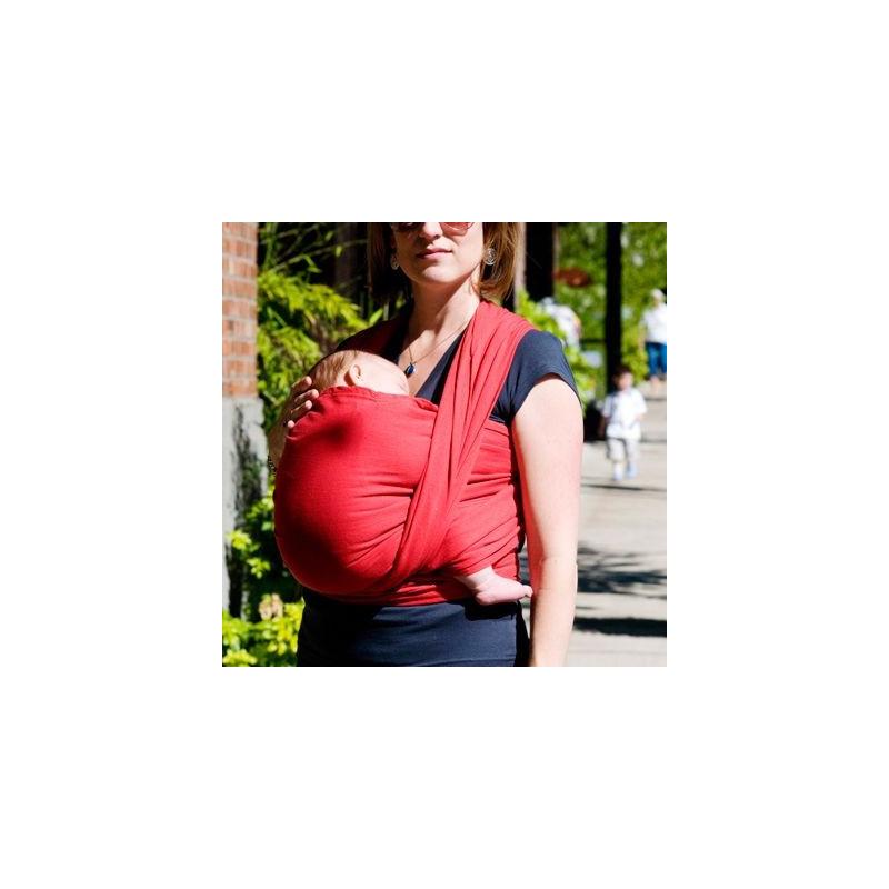 différents types de en arrivant nouveaux prix plus bas Echarpe de portage bio rouge, Colimaçon et Cie