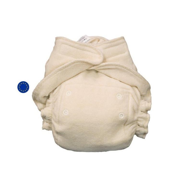Couche lavable évolutive, taille unique Ultrafit coton bio, popolini