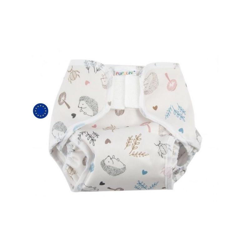 Culotte de protection impermeable Popowrap Woodland, pour couche lavable Popolini