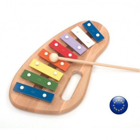 Xylophone en bois 8 tons