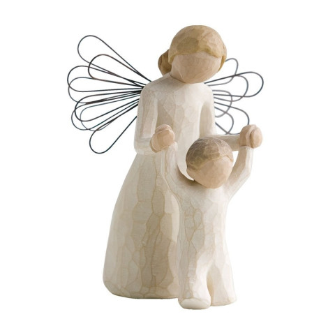 Statuette Ange Gardien, guardian angel de Willow Tree