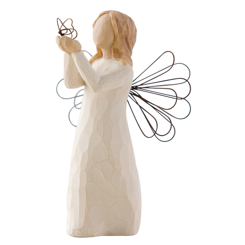 Statuette Angel of freedom,  Ange de la liberté, Willow Tree