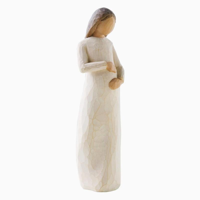 Statuette Cherish, Enceinte, attente sacrée de Willow Tree