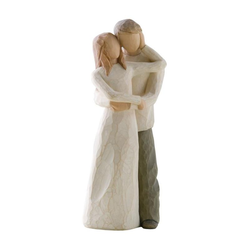 Statuette Together, ensemble amoureux de Willow Tree
