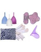 Produits d'hygiène féminine, sain, écologique, alternative au jetable