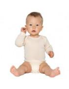 Vetement, body et habit bébé, bio en matières naturelles
